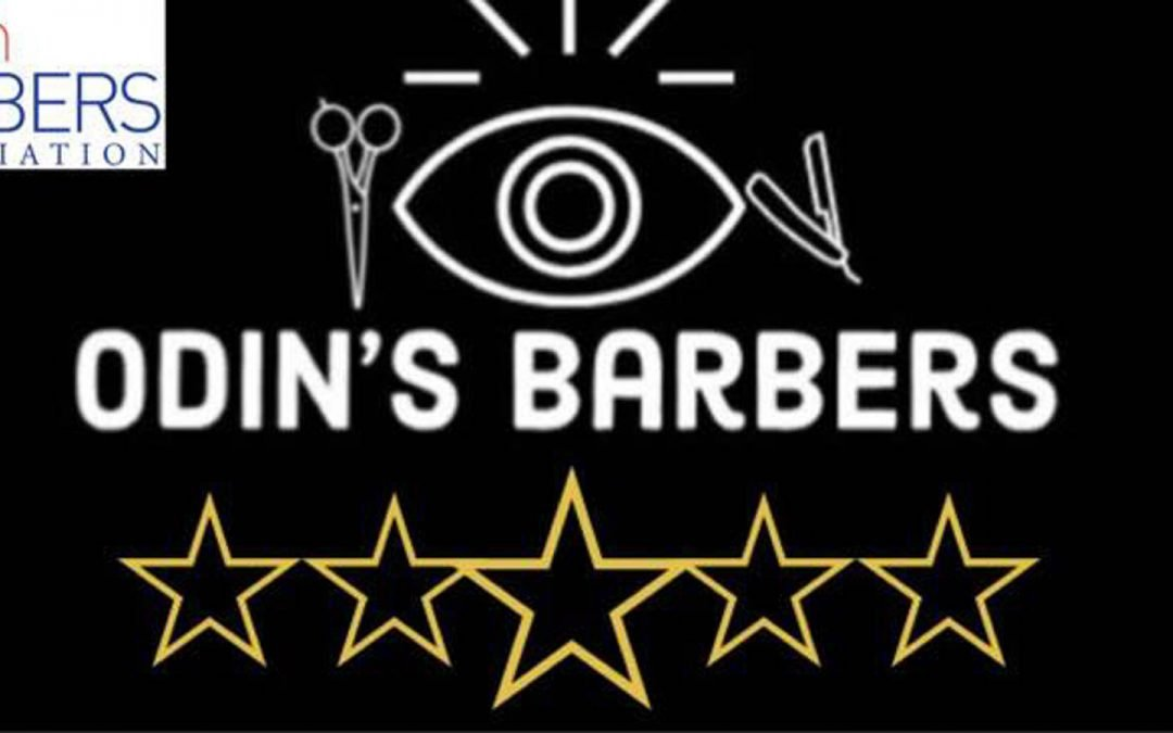 Odins Barbers Re-Opening